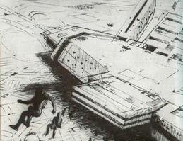 פרויקט Nauticité עם אנשים נופלים, 1966.
