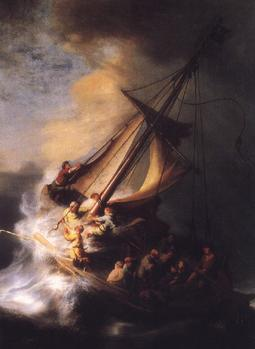 סערה בים כינרת