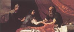 Jose de Ribera, Isaac and Jacob