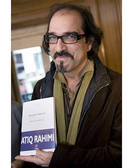 עתיק רחימי וספרו שזכה בפרס גונקור לשנת 2008