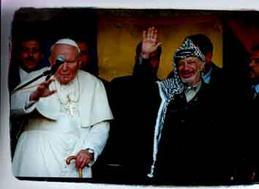 האפיפיור ויאסר ערפאת