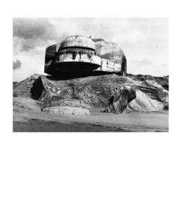 עמדת תצפית קבורה בחוף ברטניי