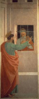פיליפינו ליפי - פאולוס מבקר את פטרוס בכלא, 1481