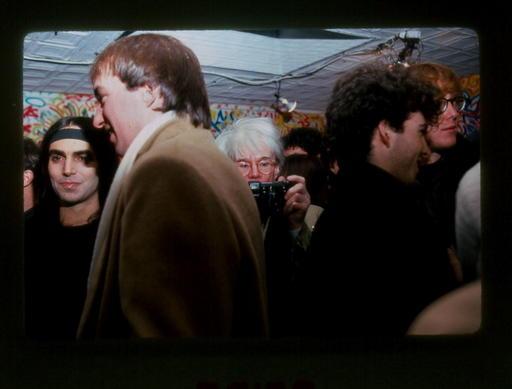 אנדי וורהול , ניו יורק 1983. תצלום - ליאורה סגן-כהן